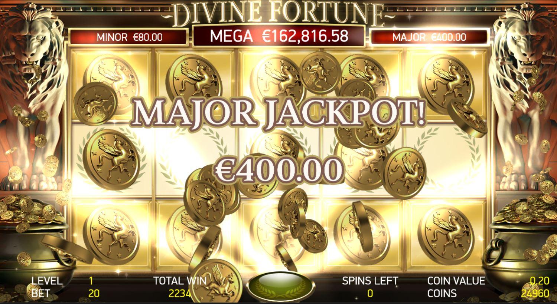 Divine Fortune Jackpot Slot Machine