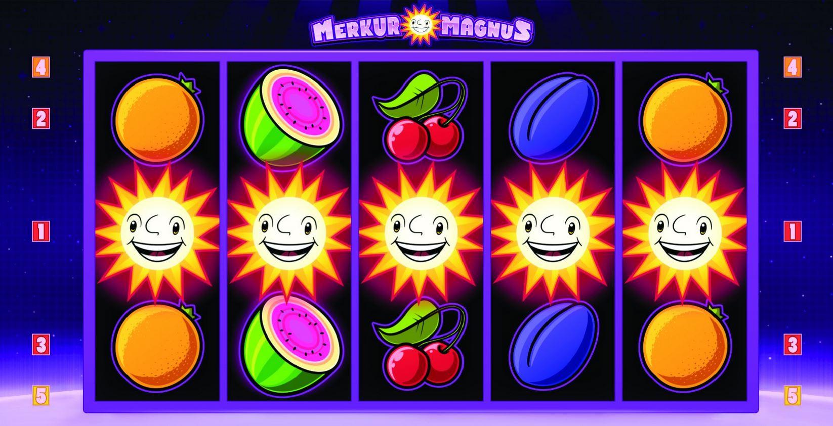 Merkur Slots Online
