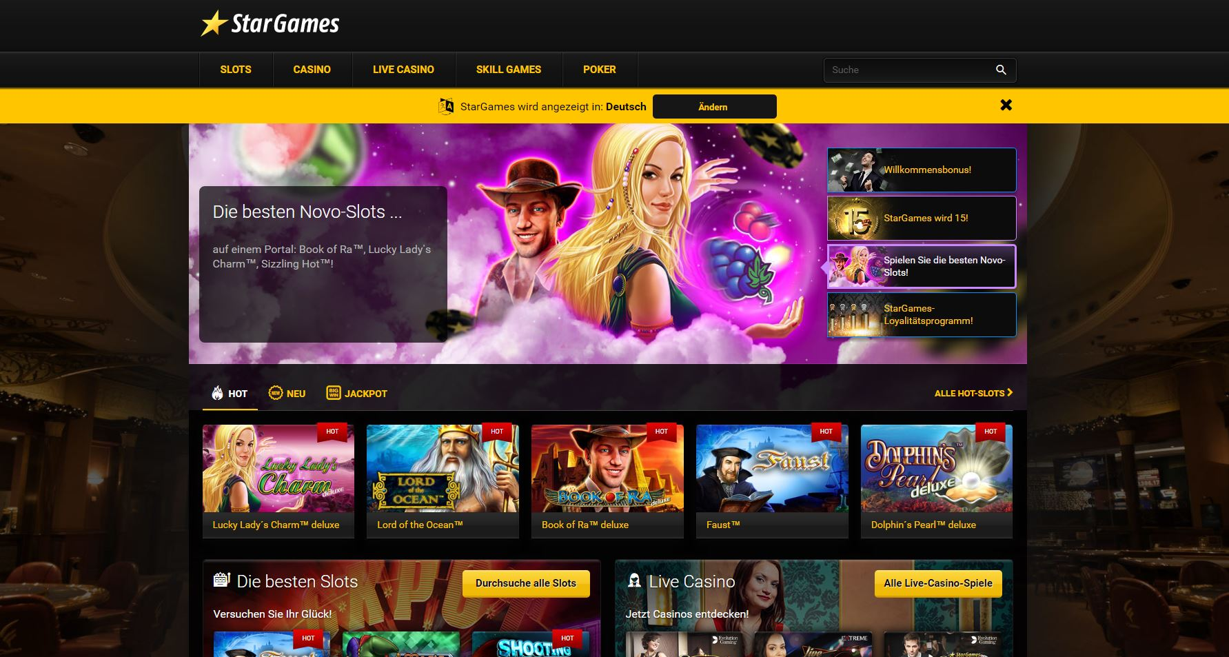 startgames online casino